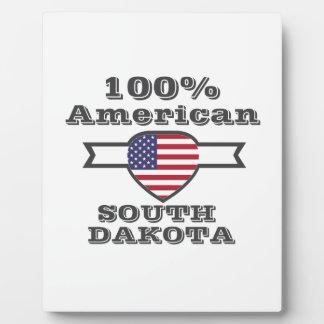 100% American, South Dakota Plaque