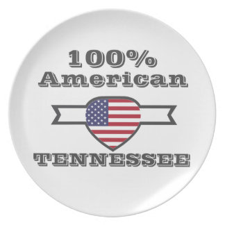 100% American, Tennessee Plate