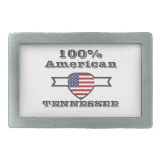 100% American, Tennessee Rectangular Belt Buckles
