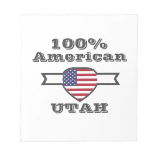 100% American, Utah Notepad