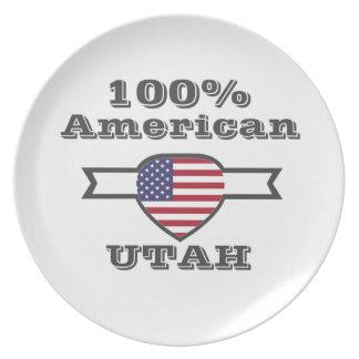 100% American, Utah Plate