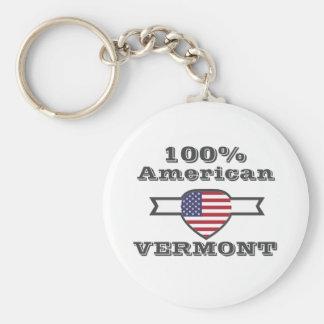 100% American, Vermont Key Ring