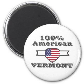 100% American, Vermont Magnet