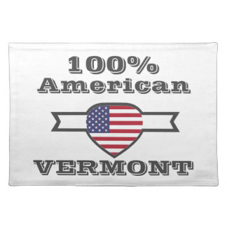 100% American, Vermont Placemat