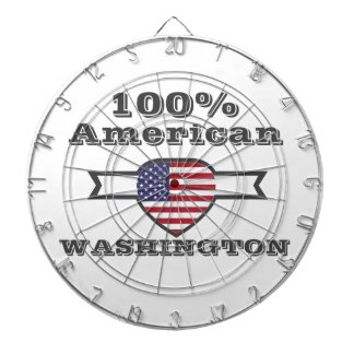 100% American, Washington Dartboard
