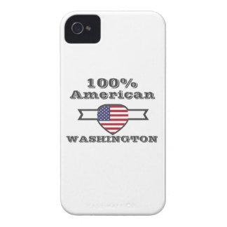 100% American, Washington iPhone 4 Cover