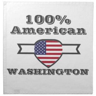 100% American, Washington Napkin