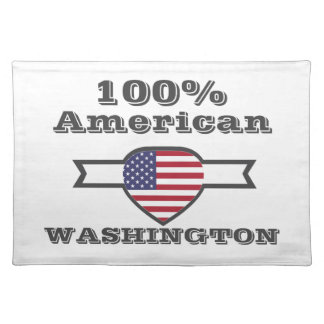 100% American, Washington Placemat
