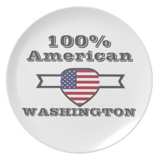 100% American, Washington Plate