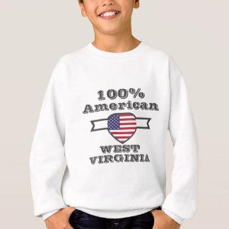 100% American, West Virginia Sweatshirt