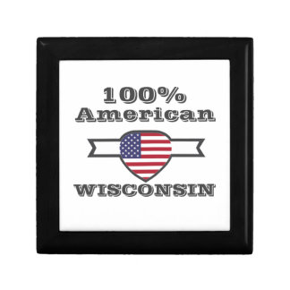 100% American, Wisconsin Gift Box