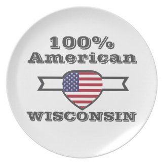 100% American, Wisconsin Plate
