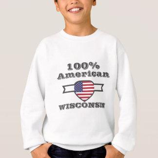 100% American, Wisconsin Sweatshirt