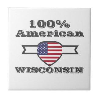 100% American, Wisconsin Tile