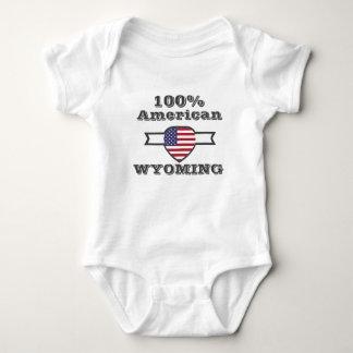 100% American, Wyoming Baby Bodysuit