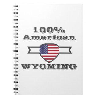 100% American, Wyoming Notebooks