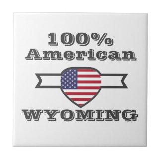 100% American, Wyoming Tile