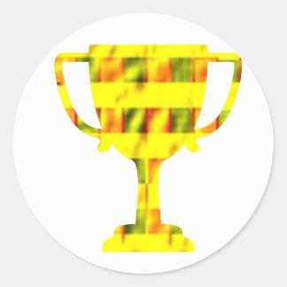 100 Award Reward Encourage Inspire Round Sticker