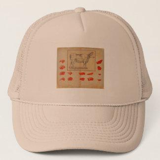 100% beef trucker hat