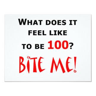 100 Bite Me! Invites