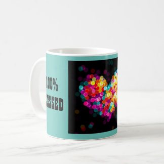 100% Blessed Multicolred Orbs Mug