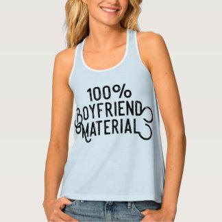 100% Boyfriend Material Singlet