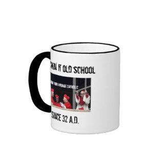 100% Catholic Ringer Mug