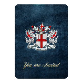 [100] City of London - Coat of Arms Card
