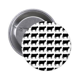 100 Cows 6 Cm Round Badge