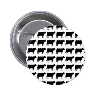 100 Cows Pinback Button