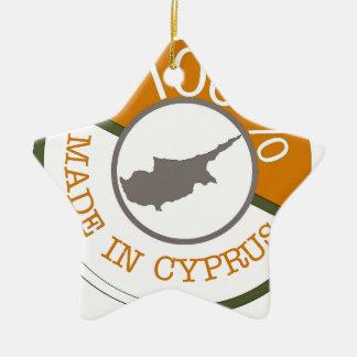 100% Cypriot! Ceramic Ornament