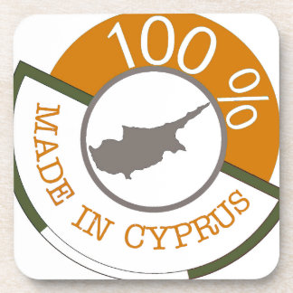 100% Cypriot! Coaster