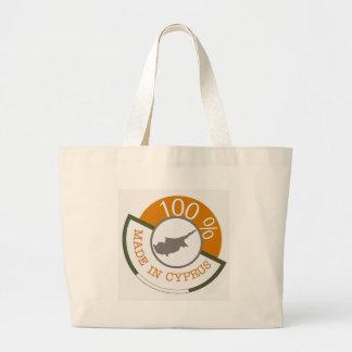 100% Cypriot! Large Tote Bag