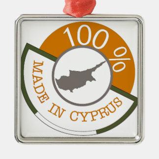 100% Cypriot! Metal Ornament