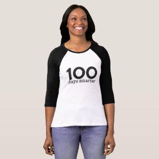 100 Days Smarter Raglan Tee (Black)