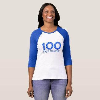 100 Days Smarter Raglan Tee (Blue)
