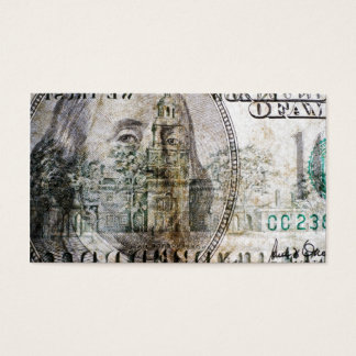 100 Dollar Bill (3) Business Card