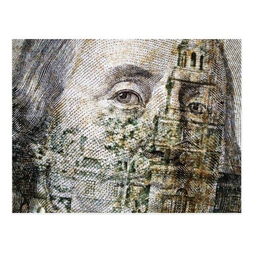 100 Dollar Bill (5) Postcard
