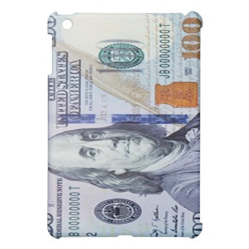 100 Dollar Bill iPad Case