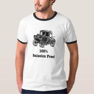 100% Emission Free T-shirts