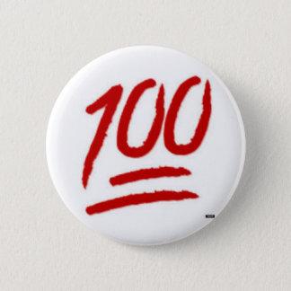 100 emoji pin