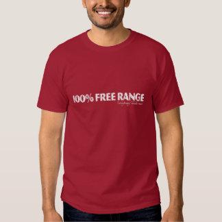 100-Free-Range--White T-shirts