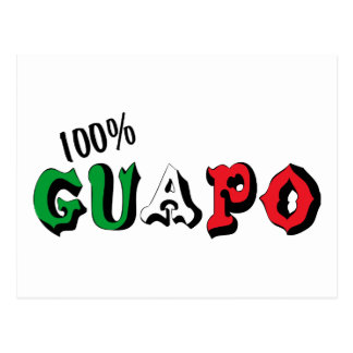 100% Guapo Postcard