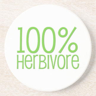 100% Herbivore Coaster
