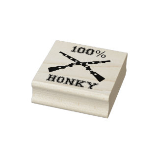 100% HONKY RUBBER STAMP