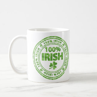 100% Irish Coffee Mug