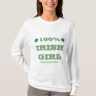 100% Irish Girl Guaranteed T-Shirt