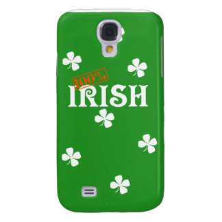 100% Irish iPhone 3g Case Samsung Galaxy S4 Cover