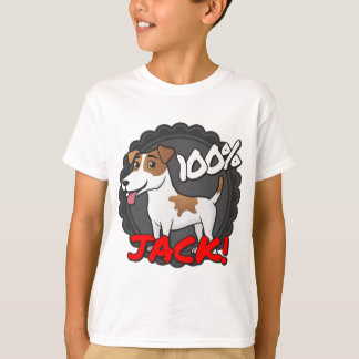 100% Jack Russell T-Shirt