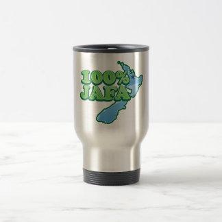 100% JAFA NEW ZEALAND kiwi design AUCKLAND Travel Mug
